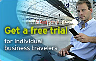 Get a free trial - for individual business travelers