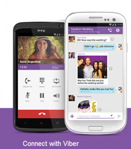 Viber app for Android and iOS