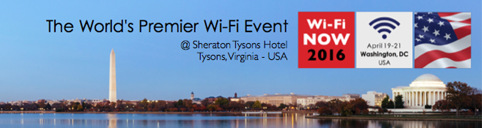 Check out the 2016 WiFi Now Conference in Washington D.C.